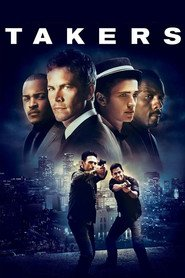Takers - movie with Paul Walker.