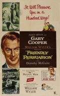 Friendly Persuasion film from William Wyler filmography.