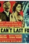 It Can't Last Forever - movie with Charles Judels.