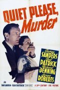 Quiet Please: Murder - movie with George Sanders.