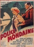 Police mondaine - movie with Charles Vanel.