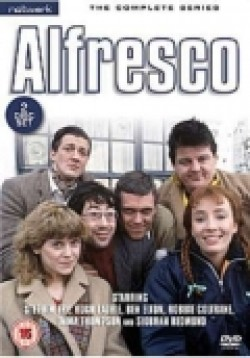 Alfresco - movie with Stephen Fry.