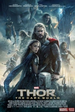 Thor: The Dark World - movie with Chris Hemsworth.