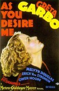 As You Desire Me film from George Fitzmaurice filmography.