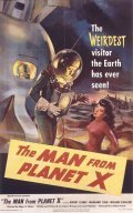 The Man from Planet X film from Edgar G. Ulmer filmography.