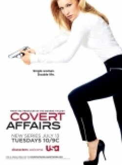 Covert Affairs - movie with Christopher Gorham.