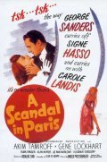 A Scandal in Paris - movie with George Sanders.