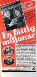 En fattig miljonar - movie with Sigurd Wallen.