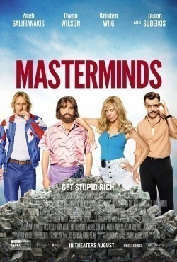 Masterminds - movie with Jason Sudeikis.