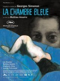 La chambre bleue film from Mathieu Amalric filmography.