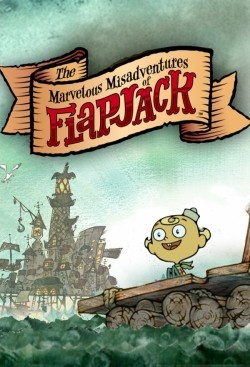 The Marvelous Misadventures of Flapjack - movie with Kevin Michael Richardson.