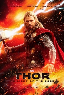 Thor: Ragnarok - movie with Chris Hemsworth.