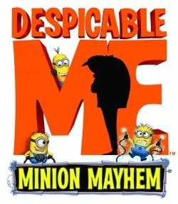 Despicable Me: Minion Mayhem 3D - movie with Steve Carell.