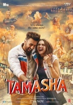 Tamasha is the best movie in Ranbir Kapoor filmography.