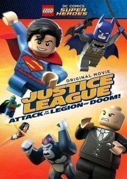 LEGO DC Super Heroes: Justice League - Attack of the Legion of Doom! - movie with Kevin Michael Richardson.