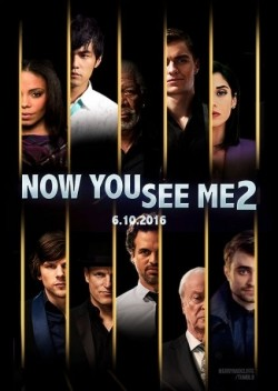 Now You See Me 2 - movie with Michael Caine.