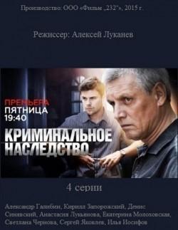Kriminalnoe nasledstvo (mini-serial) is the best movie in Kirill Zaporojskiy filmography.