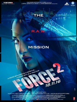 Force 2 film from Abhinay Deo filmography.