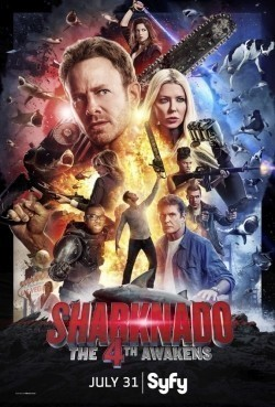 Sharknado 4: The 4th Awakens is the best movie in Masiela Lusha filmography.