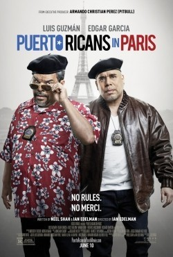 Puerto Ricans in Paris - movie with Rosario Dawson.