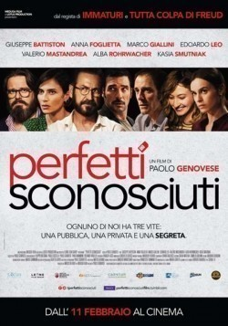 Perfetti sconosciuti is the best movie in Valerio Mastandrea filmography.
