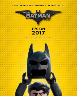The Lego Batman Movie - movie with Jenny Slate.
