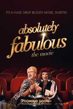 Absolutely Fabulous: The Movie - movie with Joanna Lumley.