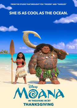 Animation movie Moana.