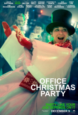 Office Christmas Party - movie with Jason Bateman.