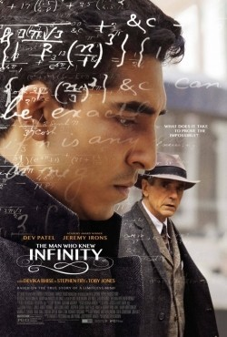 The Man Who Knew Infinity - movie with Dev Patel.