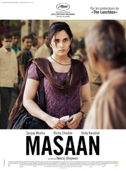 Masaan is the best movie in Richa Chadda filmography.