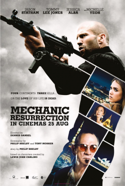 Mechanic: Resurrection - movie with Michelle Yeoh.