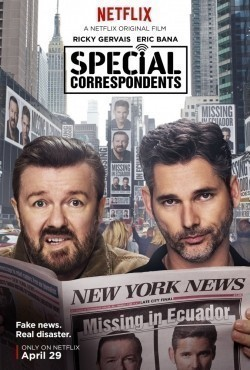 Special Correspondents - movie with America Ferrera.