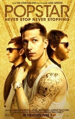 Popstar: Never Stop Never Stopping is the best movie in Andy Samberg filmography.