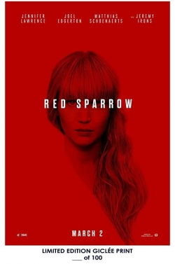 Red Sparrow film from Francis Lawrence filmography.