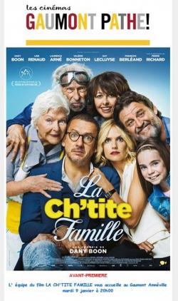 Film La ch'tite famille.