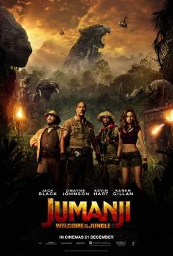 Film Jumanji: Welcome to the Jungle.