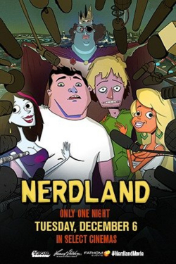 Nerdland film from Chris Prynoski filmography.