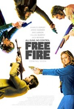 Free Fire - movie with Armie Hammer.