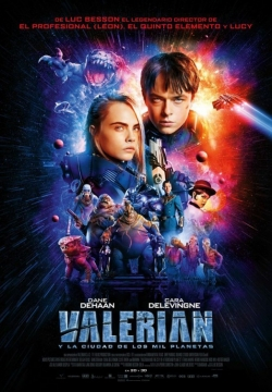 Valerian and the City of a Thousand Planets film from Luc Besson filmography.