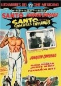 Santo contra hombres infernales - movie with Fernando Oses.