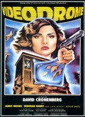Videodrome film from David Cronenberg filmography.