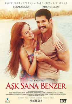 Aşk Sana Benzer is the best movie in Burak Özçivit filmography.