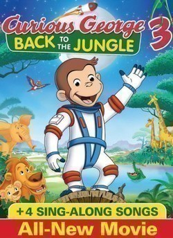 Curious George 3: Back to the Jungle - movie with John Goodman.