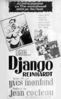 Django Reinhardt - movie with Yves Montand.