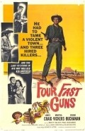 Four Fast Guns - movie with Martha Vickers.